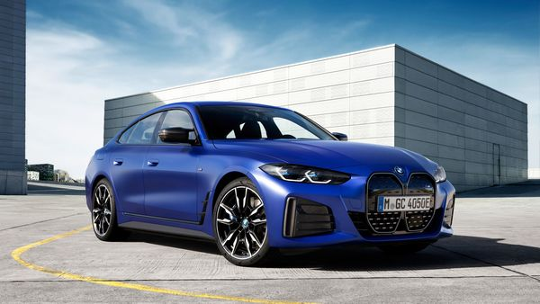2022 BMW i4 M50 is the first electric car in the brand's performance range of vehicles with M badging.