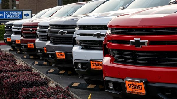 GM had predicted a first-half pretax profit of around $5.5 billion when it released first-quarter earnings in May. (Bloomberg)