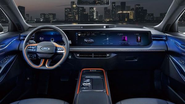 The Ford ID.4 could get a SYNC4 touchscreen infotainment system.