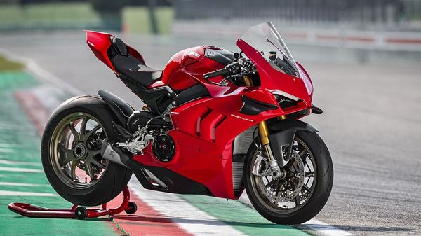 The Panigale V4 will be sold in both Standard as well as S variants.
