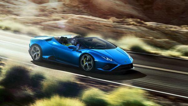 Lamborghini will launch the Huracan Evo RWD Spyder in India on June 8.