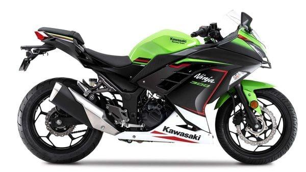 Representational Image: 2021 Kawasaki Ninja 300 gets a new paint scheme.