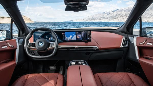 The new generation of BMW's iDrive display and operating system will also make a debut in this latest range of EV from the luxury automaker. There will have a curved 12.3-inch fully digital display and will also feature an upgraded BMW intelligent personal assistant. (BMW)