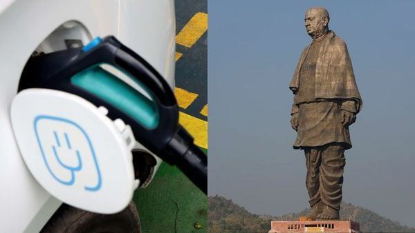 Gujarat's Statue of Unity to become India's first electric vehicles only zone.