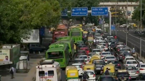 Delhi unlocks traffic jams as blockage restrictions are eased