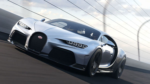 Bugatti has taken the covers off the fastest car in the world - Bugatti Chiron Super Sport. It has been priced at a staggering 3.2 million euros (roughly converted to around <span class='webrupee'>₹</span>28.50 crore).