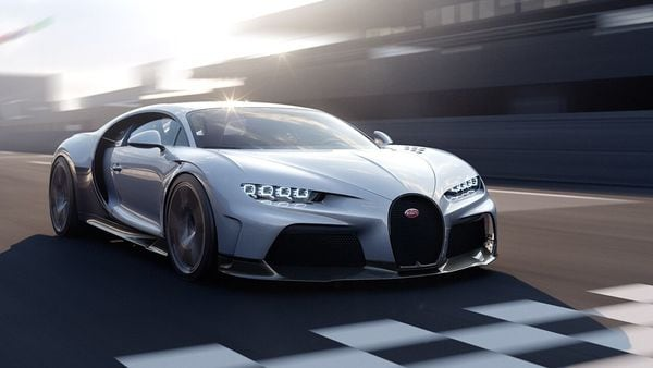 Bugatti Chiron Super Sport can sprint from zero to 100 kmph in less than three seconds and has a top speed of 440 kmph.