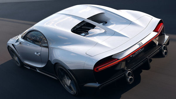 The Bugatti Chiron Super Sport can sprint from zero to 100 kmph in less than three seconds and has a top speed of 440 kmph. It is 0.3 seconds faster than the conventional Chiron in 0-200 kmph sprint and 1.0 seconds faster in 0-300 kmph sprint.