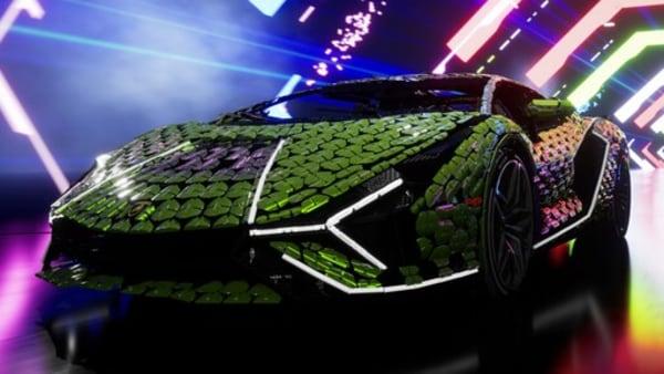 LEGO creates a life-size Lamborghini Sián FKP 37 replica with four lakh pieces