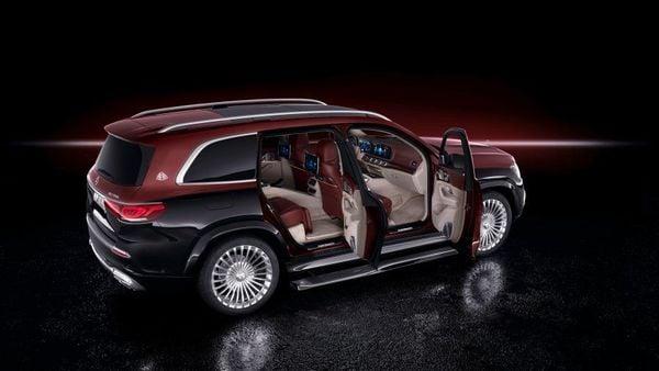 Mercedes-Benz Maybach GLS 600 luxury SUV.