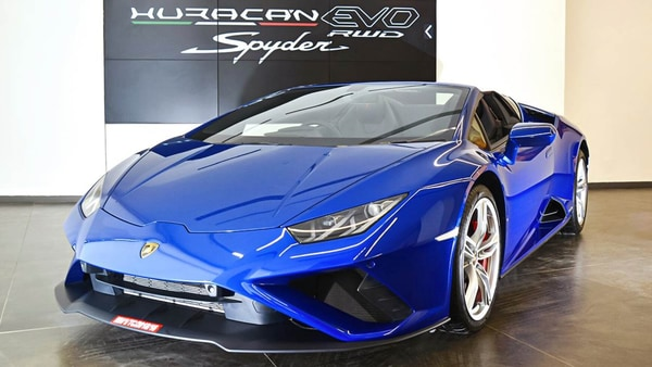 Lamborghini Huracan Evo RWD Spyder launched in India at ₹3.54 crore.