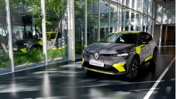 The latest Megane E-Tech Electric EV. (Renault)
