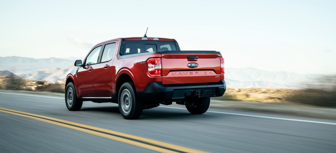 The Ford Maverick is capable of towing a weight of 1,814 kg and it draws energy from a 2.0-litre EcoBoost petrol engine.