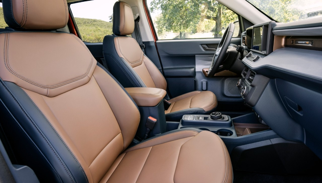 Ford claims that the new Maverick offers ample space and comfort to the occupants, suitable for a long journey experience.