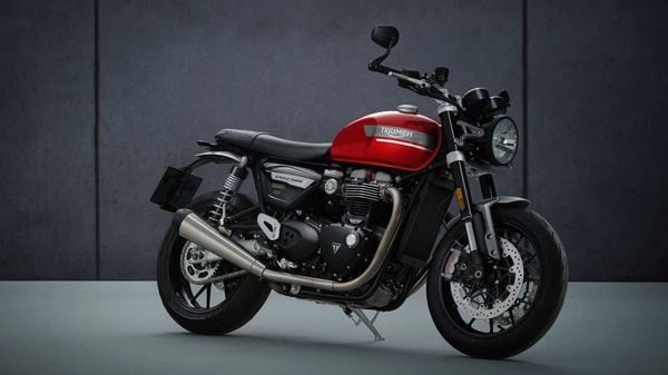 The price announcement on the new Speed Twin is likely to take place soon.