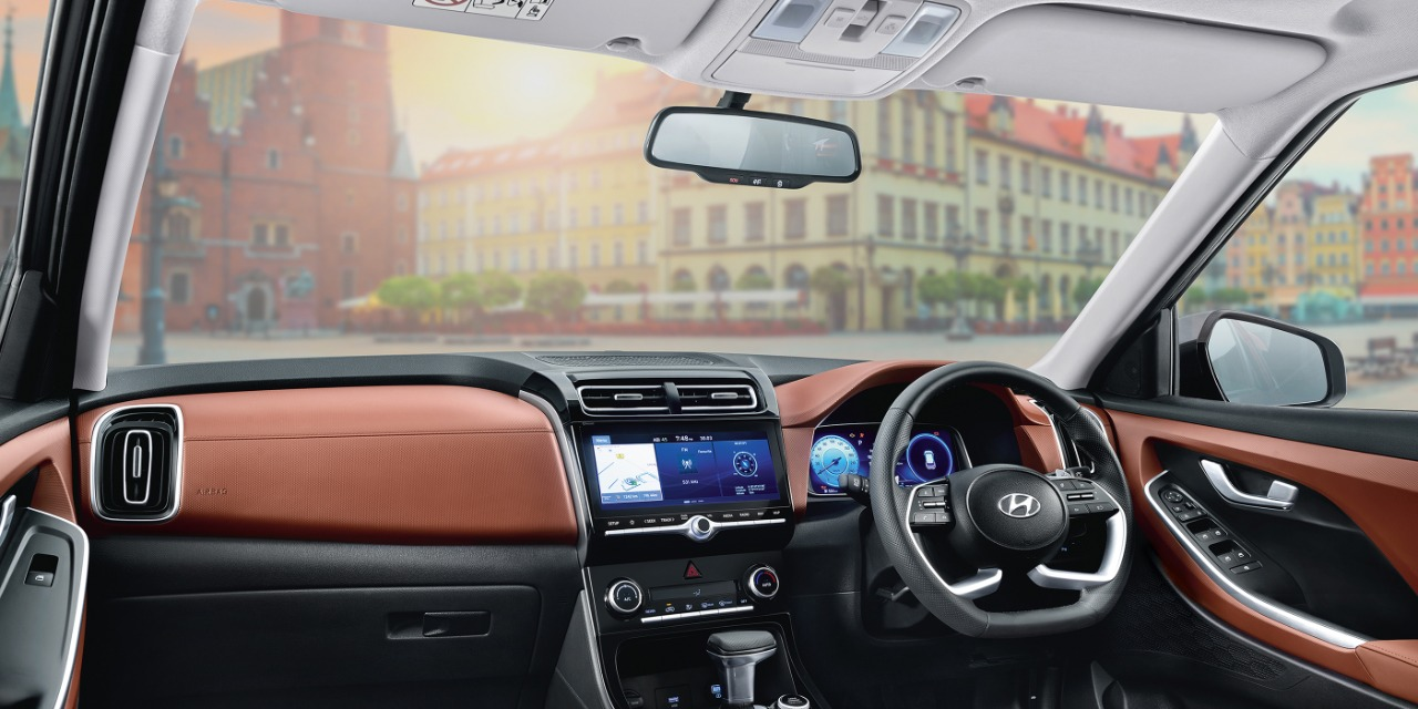 Hyundai Alcazar will be packed with loads of premium features, including wireless charging and air purification system. It will get a 10.25-inch touchscreen digital display, Hyundai BlueLink, 8-speaker Bose sound system, 64 colours ambient lighting and 8-way adjustable power-assisted driver seat, among others.