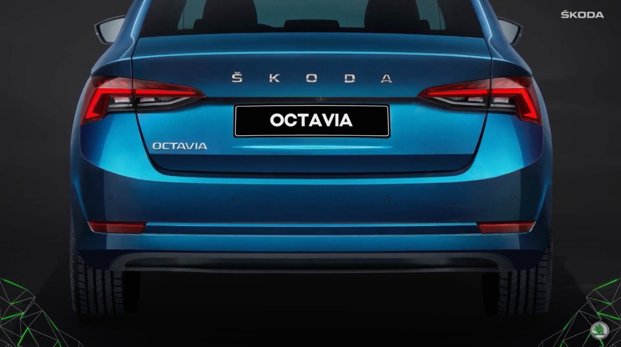 At the rear, the taillights have also been redesigned and are now sleeker than before. The Skoda badging has also changed from what was found in the earlier models. Also the new Octavia gets a powered tailgate.