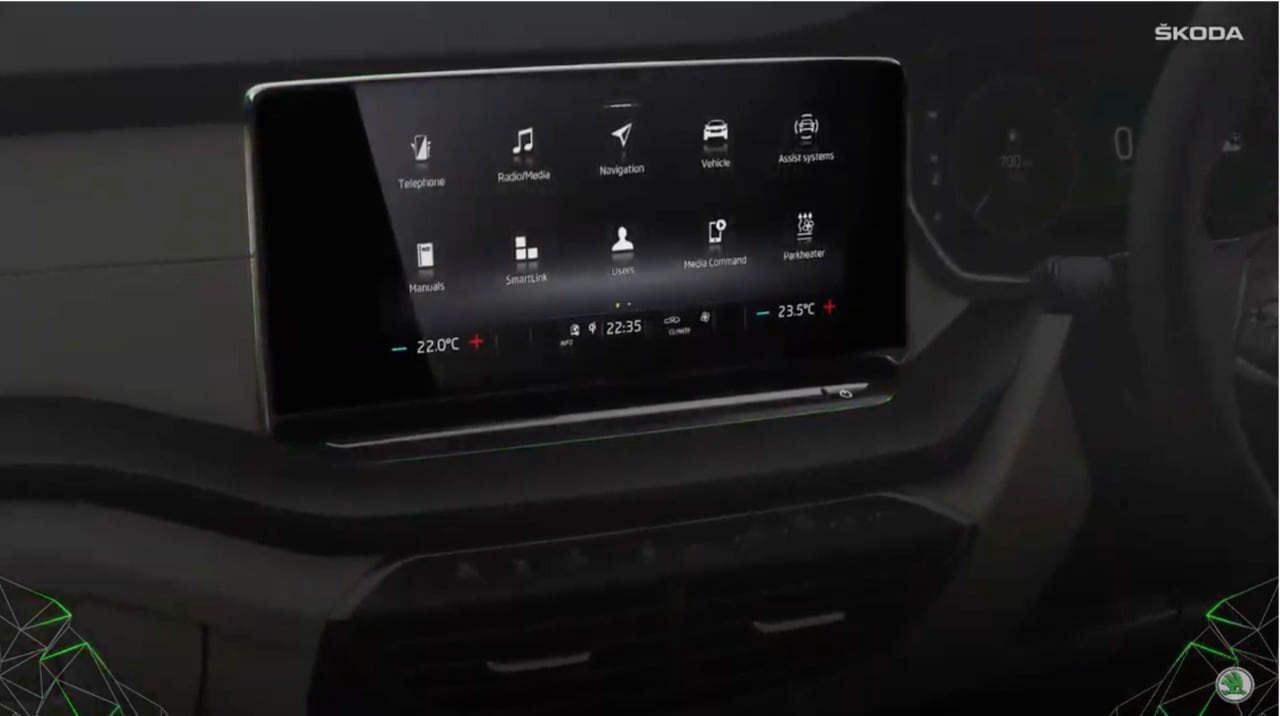 The new Octavia gets a 10.25-inch virtual cockpit and a 10-inch infotainment system. As far as safety is concerned, the sedan will offer eight airbags, electronic stability control, ABS, EBD, multi-collision brake, mechanical brake assist, electronic differential lock, among others.