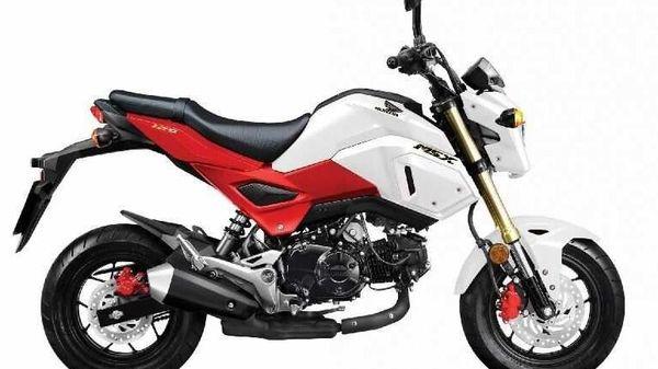 Representational image: 2020 Honda Grom 125/ MSX 125 in Red/White dual-tone colour.