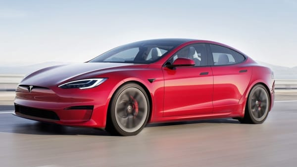 Tesla will deliver a high-performance version of its Model S sedan on Thursday.