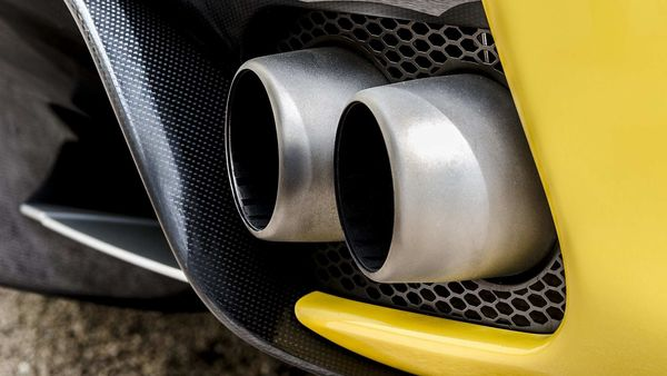 File photo of a car exhaust used for representational purpose