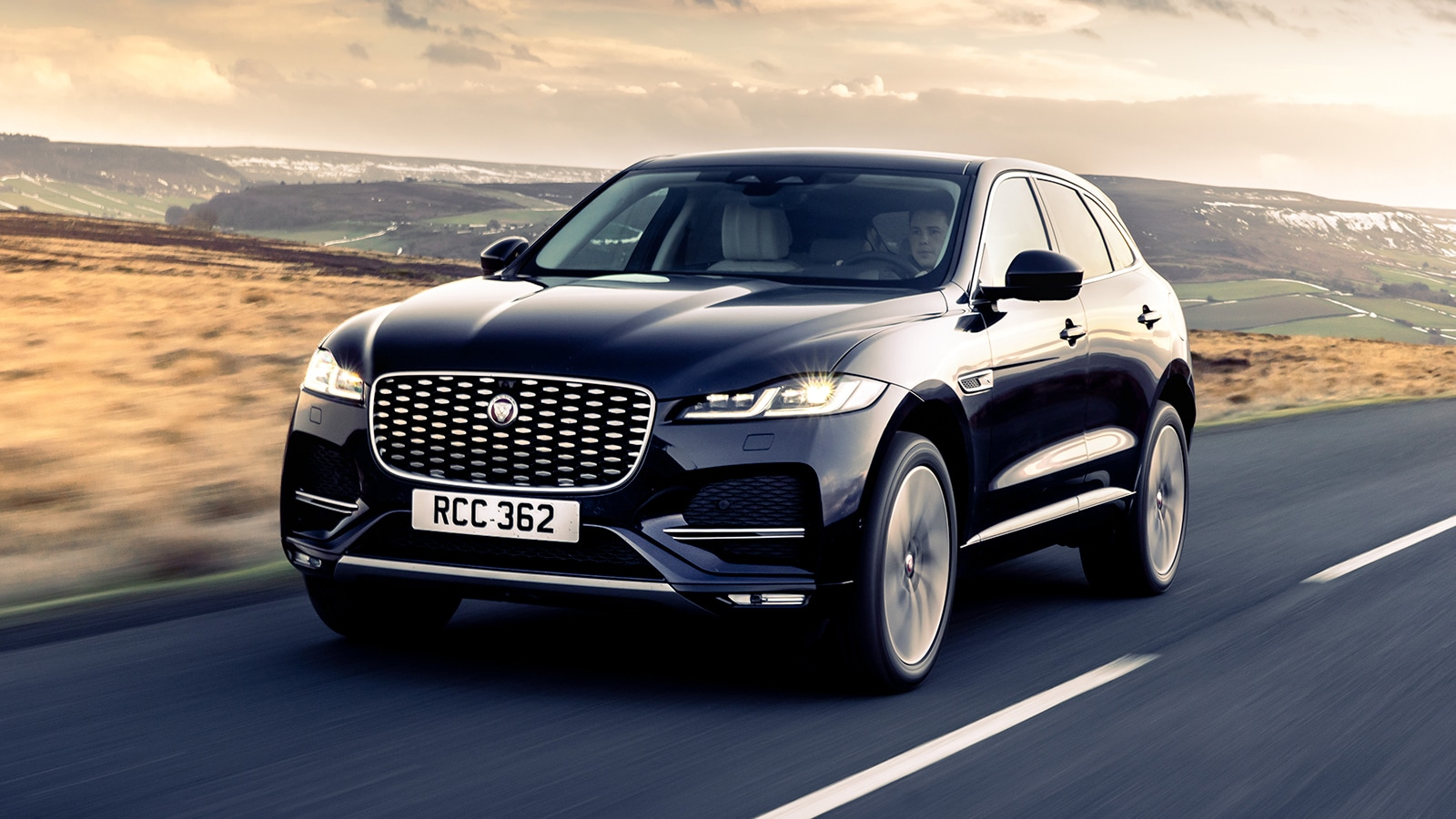 The latest F-Pace from Jaguar gets noticeable visual changes on the outside.