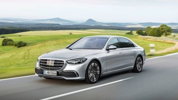 The latest S-Class from Mercedes
