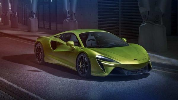 Representational Image of McLaren Artura hybrid supercar.
