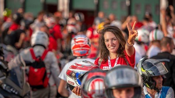 2021 World Ducati Week was postponed due to Covid-19
