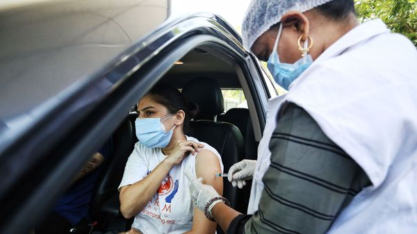 The vaccination centre was located at Vegas Mall, Sector 14, Dwarka. (File photo)