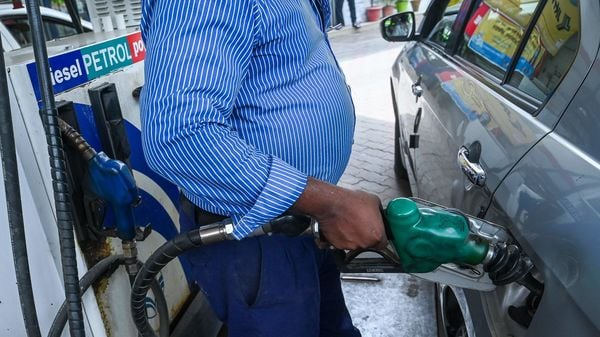 Petrol and diesel prices today have been increased by 27 paise and 23 paise per litre respectively. (File photo) (AFP)