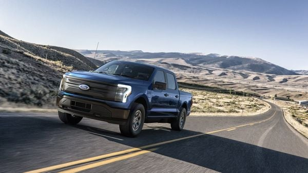 The electric drivetrain, powered by a 1,300-pound battery, kicks out 563 horsepower and 775 pound-foot of torque, making it the most powerful F-150 ever.