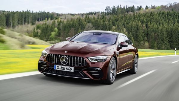 2022 Mercedes-AMG GT 53 4-Door Coupe makes debut with refreshed design, features.