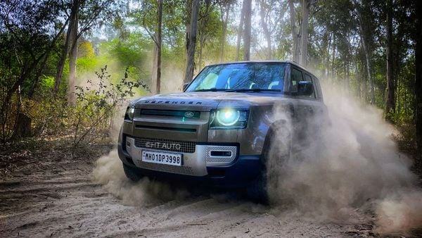 Jaguar Land Rover will start testing a Defender SUV prototype that is powered by hydrogen fuel cell by the end of this year. (HT Auto/Anik Biswas)