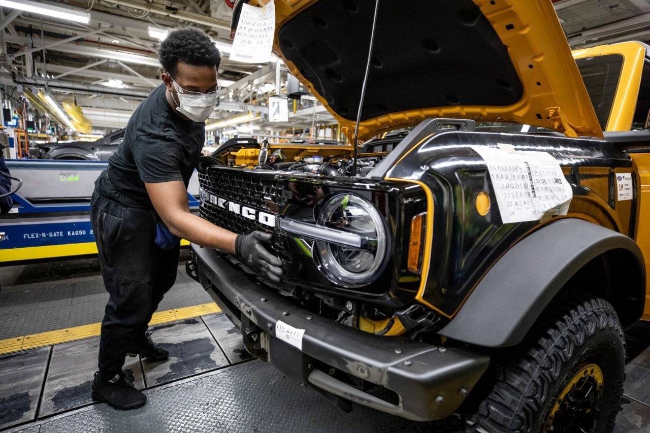Ford has said that its customers have already booked more than 125,000 sixth-generation Bronco SUVs since the beginning of the year.