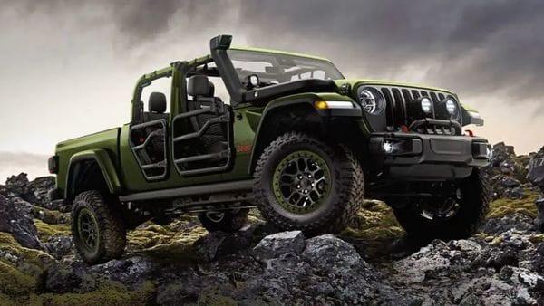 File photo of Jeep Gladiator 2021.