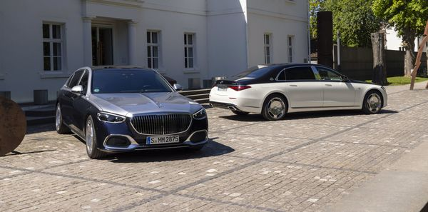 2021 Mercedes Maybach S-Class launched in Europe with V8 and V12 engines.