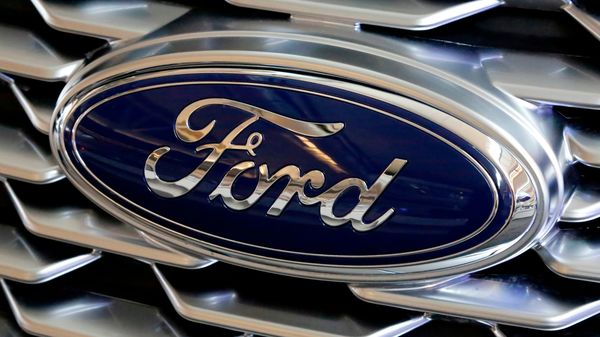 Logo of Ford. (File photo)