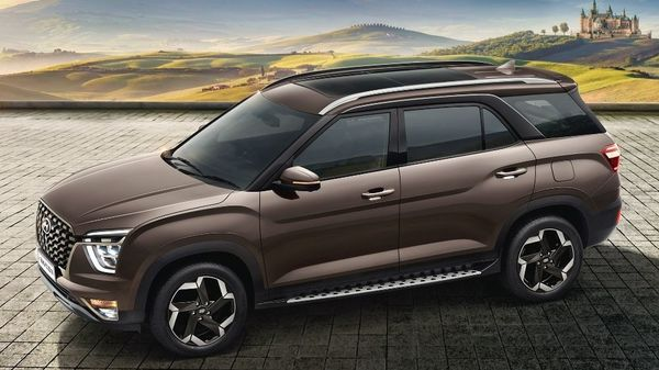 Hyundai has launched its much-awaited first three-row SUV in India, the Alcazar, at an introductory starting price of <span class='webrupee'>₹</span>16.30 lakh (ex showroom). Bookings have already been opened for the SUV for a token amount of <span class='webrupee'>₹</span>25,000. The SUV is based on Creta and has been designed keeping the Indian market in mind.