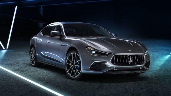 The new Maserati Ghibli Hybrid. (Maserati)