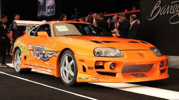 Toyota Supra from Fast & Furious movies (Photo courtesy: Barrett Jackson)