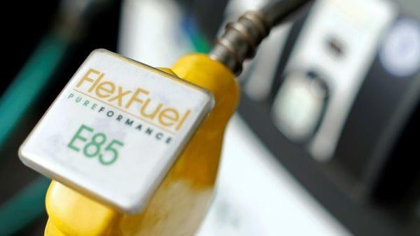 Representational photo of a fuel nozzle from a flex fuel pump (REUTERS)