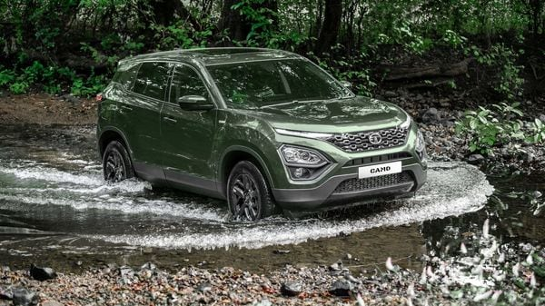 Tata Motors has elevated Girish Wagh as executive director with effect from July 1, 2021. Representational Image; Tata Harrier CAMO edition