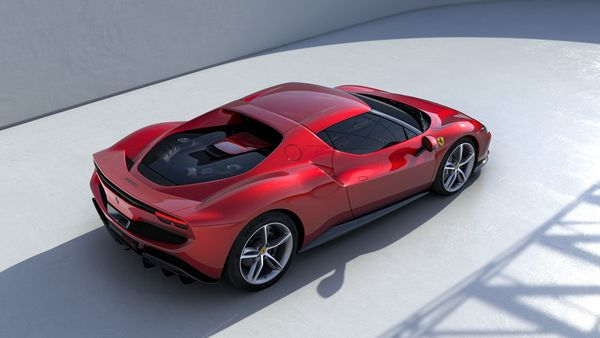 In the electric-only mode, the new Ferrari 296 GTB can cover up to 25 kilometres.