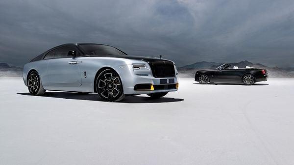 Rolls-Royce's new Landspeed Collection. (Rolls-Royce)