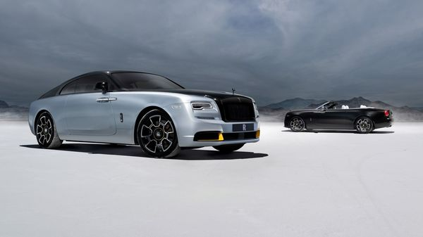 New Rolls-Royce Collection of Wraith and Dawn Black Badge draw power from a twin-turbocharged 6.6-litre engine. (Rolls-Royce)