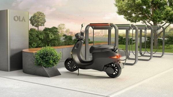 File photo of Ola e-scooter.