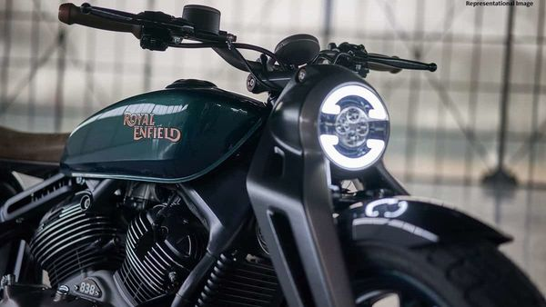 Royal Enfield KX picture for representation.