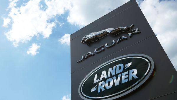 The Jaguar Land Rover logo. (File photo) (REUTERS)