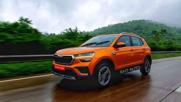 Skoda Kushaq comes available as a petrol-only model.. (HT Auto/Sabyasachi Dasgupta)
